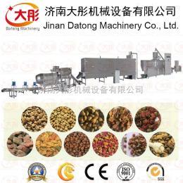 DSE90湿法宠物食品膨化机生产线