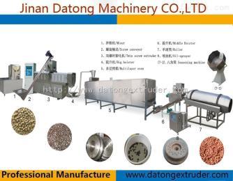 DSE70-Ⅲ鱼饲料颗粒机生产线