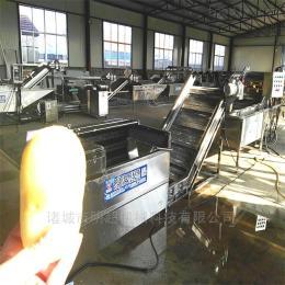 QZM-6连续式蔬菜洗菜机厂家规格报价