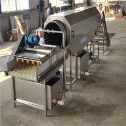 山东滚筒式喷淋包装袋清洗机用于酱菜包装袋洗袋机