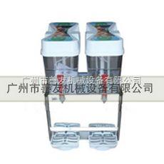 武漢SY18L-2西餐廳專用 雙缸冷熱果汁機|冰水制冷機 省電