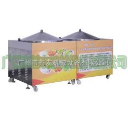 SYM-800厂家零售 早餐店锅巴馒头机 不锈钢锅巴机 操作简便