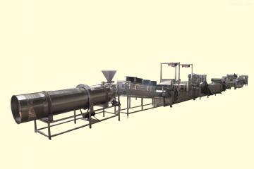 薯條生產線鮮切薯片油炸機(圖片)山東八一