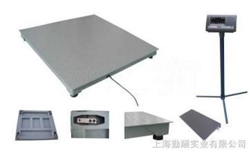 1米2*1米2电子地磅秤,2吨1.2米电子地磅/不锈钢(可选配双引坡)