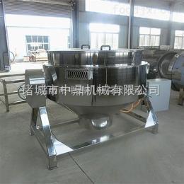 600L优质燃气夹层锅600L 立式大型化糖锅