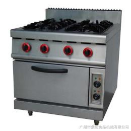GH-987B富祺GH-987B立式燃氣四頭煲仔爐連電焗爐