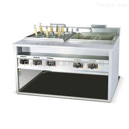 GH-1276煮面爐商用立式燃氣煮面機帶湯盆