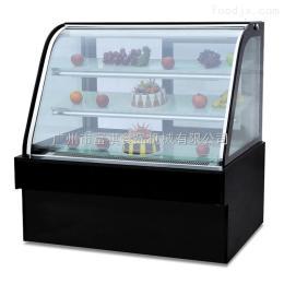 CW-180富祺豪华落地式双圆弧蛋糕展示柜水果冷藏柜