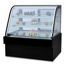 CW-120富祺1米2长豪华落地式双圆弧蛋糕展示柜