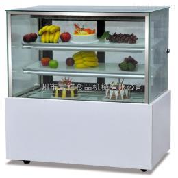 CL-180富祺日式三层大理石直角蛋糕展示柜面包冷藏柜寿司慕斯保鲜柜