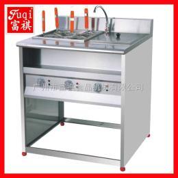 FY-4HX-2富祺商用立式電熱四格煮面機連帶湯池