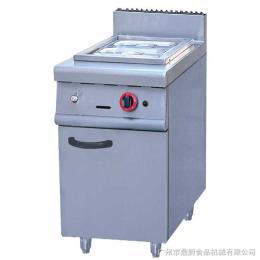 GH-974富祺不锈钢落地式燃气保温汤池连柜座