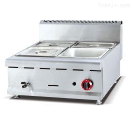 GH-584富祺台式燃气四盆保温汤池