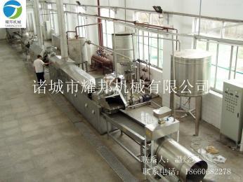 YB-8500全自動培根成套油炸流水線