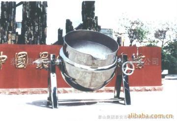 100-600L可倾式夹层锅、不锈钢罐