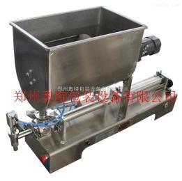 AT-KGL搅拌式颗粒酱灌装机