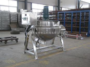 500L免鍋爐蒸汽加熱式鹵制品、火鍋底料殺菌設備