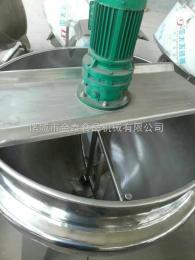 400L全不锈钢电加热可倾搅拌夹层设备