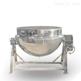 300L不锈钢电加热爆米花夹层锅设备