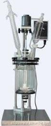 桂林雙層玻璃反應釜/夾套玻璃反應器