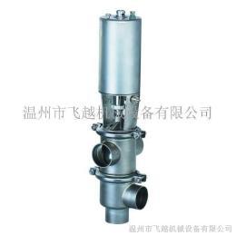 不銹鋼衛生級氣動換向閥