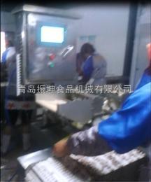 福建高效自動穿魷魚須生產線w-8