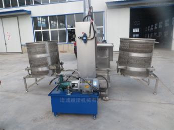 SZ300熱銷全自動魷魚脫水壓榨機立式液壓壓榨設備