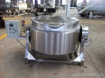 400炒辣椒酱专用锅、可倾式电加热夹层锅
