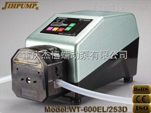 WT-600EL-253D杰恒WT-600EL-253D工業型_蠕動泵_計量泵_分裝加藥泵