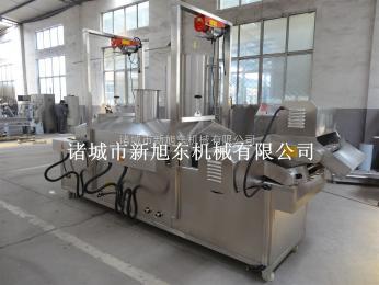 XDL掛漿雞塊油炸生產線新旭東