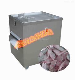 TT-300型鲜鱼切段机电动带鱼切块机