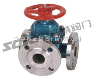 G49J三通隔膜閥,高壓隔膜閥