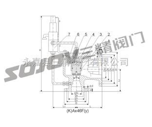 Ax46F(Y)-16先導式安全閥