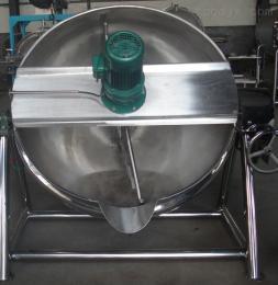 多种型号山东夹层锅生产行星搅拌炒锅