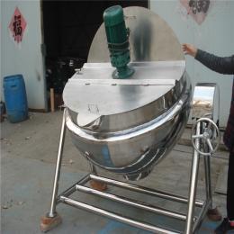 400强大辣椒酱带搅拌夹层锅