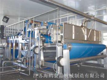 DYJ3帶式榨汁機配置
