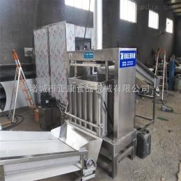 YZ-500厂家直销酱腌菜压榨脱水机,金针菇压榨脱水机,竹笋压榨机,桑葚压榨收汁