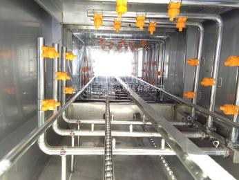 ZK-6000正康系列周转箱清洗机厂家,塑料筐清洗机,隧道式包装箱高压清