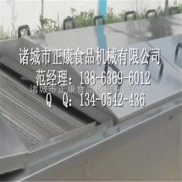 ZK-3800网板式巴氏杀菌设备 软包装泡椒藕带巴氏杀菌 冷却机