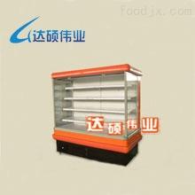 豪华风幕柜(橙红·2米·一体机)