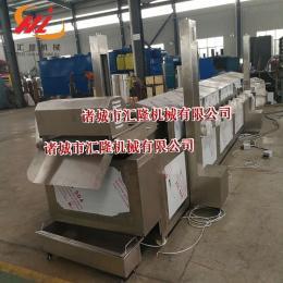 HLYZ-8000新型電加熱杏鮑菇油炸機設備