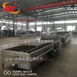 HL-4000魚腥草噴淋氣泡清洗機 中藥材清洗機生產廠家