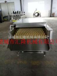 HL-3000玉米平行毛辊清洗机水果玉米加工设备