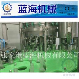 LHBCGF玻璃瓶含气饮料灌装生产线 鸡尾酒果酒三合一灌装机 啤酒灌装机