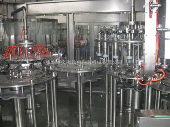GCF40-40-12全不銹鋼果汁三合一灌裝機40-40-12