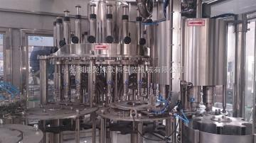 RCGF24-24-8茶饮料三合一灌装设备