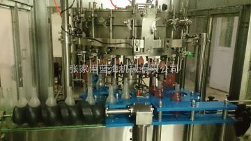 DCGFB18-12-18-6果肉含汽饮料四合一灌装设备