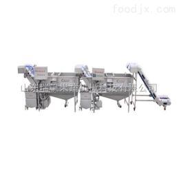 MQS-CL-9-P/Q-1500科邁達 連續式土豆清洗去皮機 果蔬加工設備