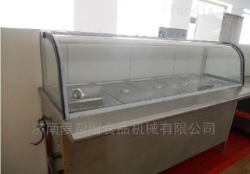 多格不銹鋼保溫售飯臺系列