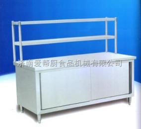 (厂家直销)不锈钢设备带架子工作台